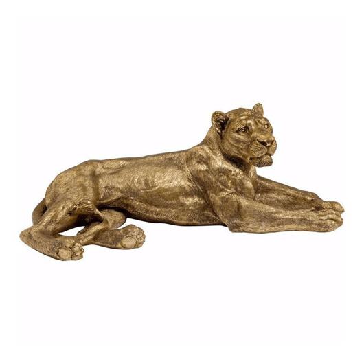 Image de Golden Lion Deco Object