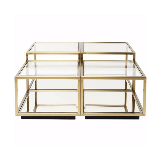 Image de Luigi Modular Coffee Table - Gold