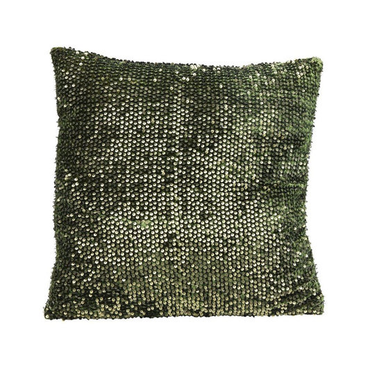 Image de Paillette Green Cushion