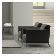 Image sur TRATTO Arm Chair - Grey
