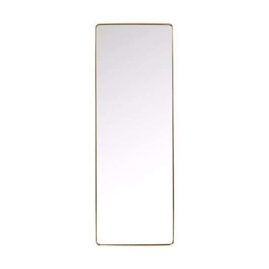 Picture of Curve 200 Rectangular Mirror - Brass