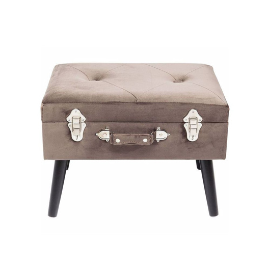 图片 Suitcase Foot Stool - Grey