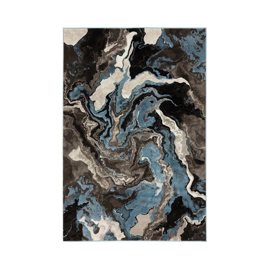 图片 FLAMINGO Rug Blue - Large