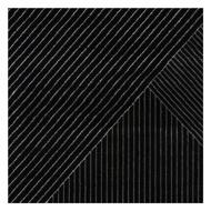 图片 VENICE Rug Black - Medium