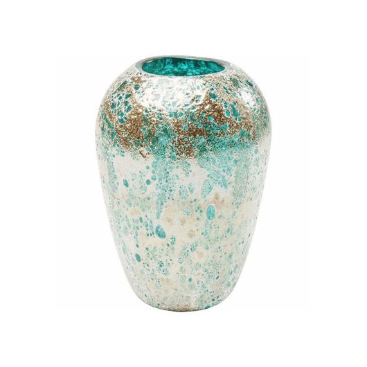 Image de Moonscape 22 Vase - Turquoise