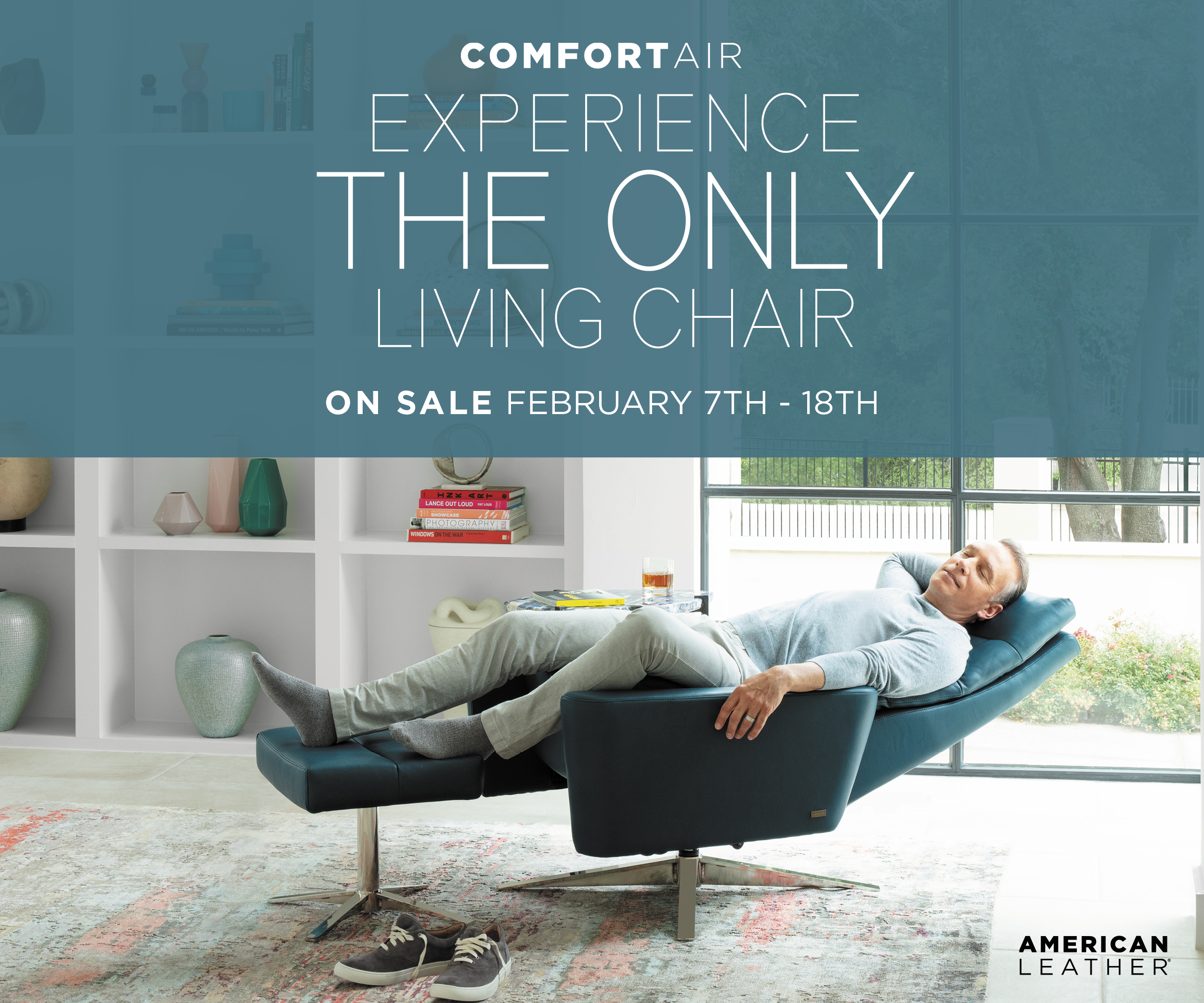 American Leather recliner sale