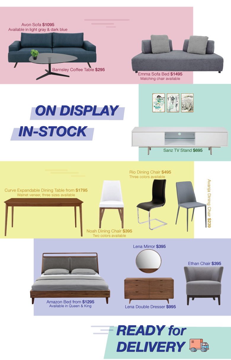 quick delivery furniture